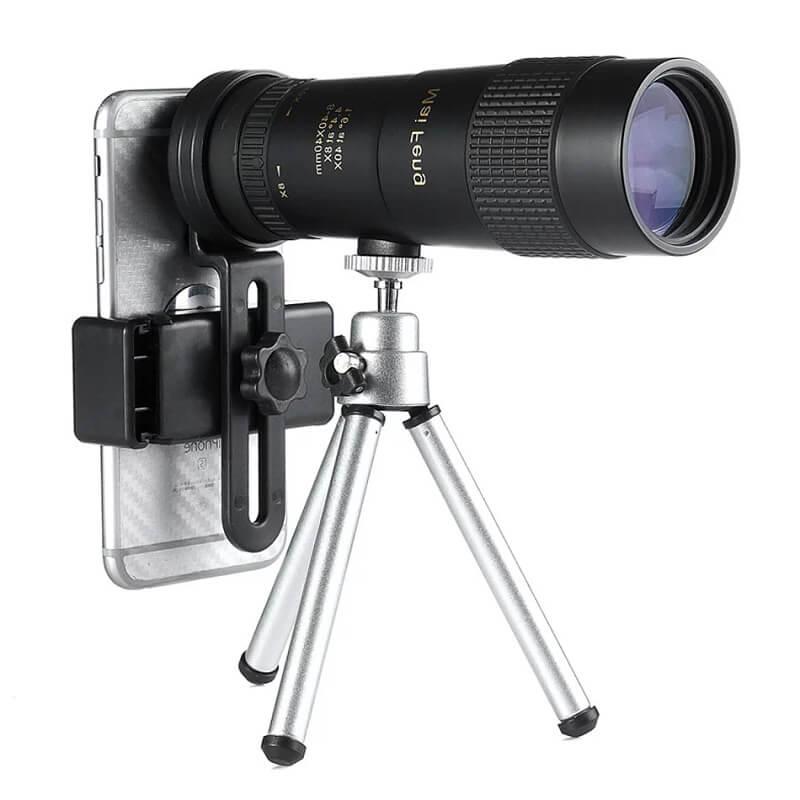 Монокулярный телескоп 8-40x40 с Алиэкспресс