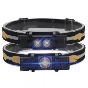 Налобный фонарь Boruit 20W с Алиэкспресс