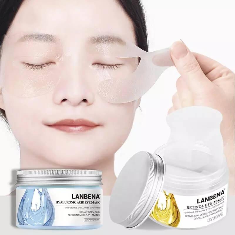 Патчи для глаз с гиалуроновой кислотой Lanbena с Алиэкспресс
