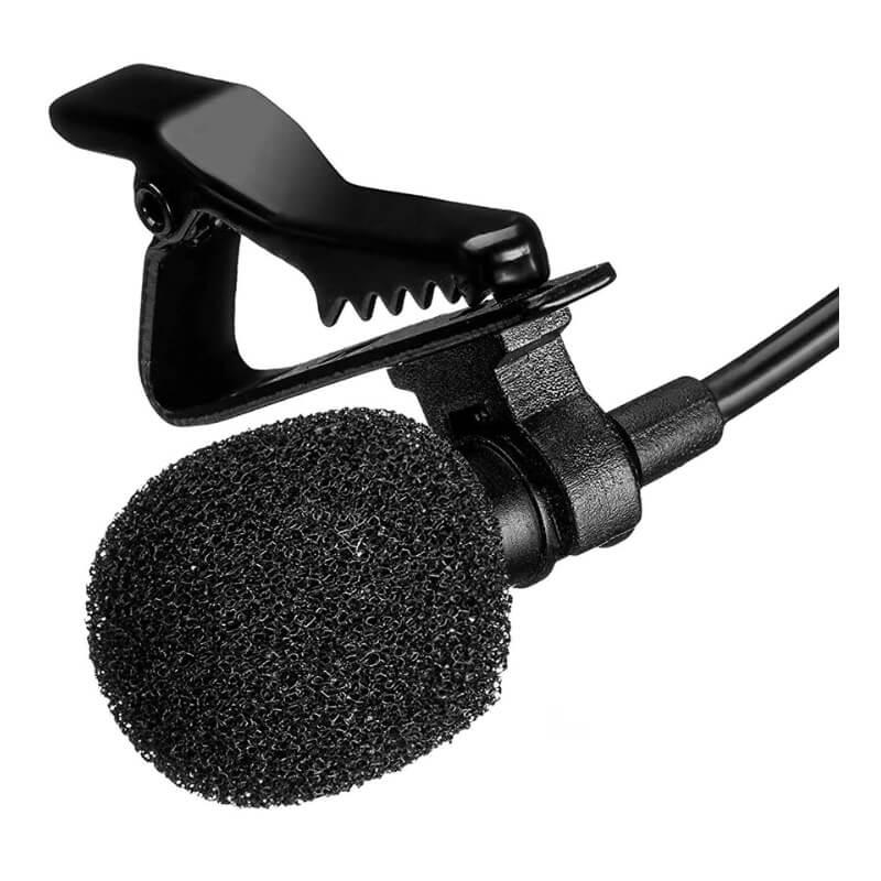 Петличный микрофон Boya M1 с Алиэкспресс