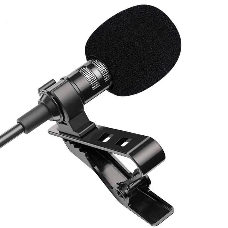 Петличный микрофон Hantoper с Алиэкспресс