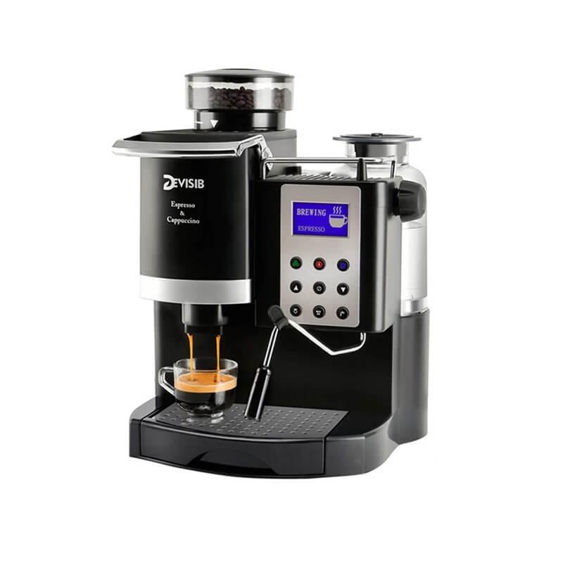 Полуавтоматическая кофемашина Devisib DM038 с Алиэкспресс