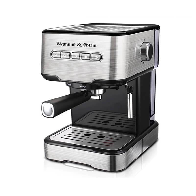 Рожковая кофеварка Zigmund&Shtain ZCM-850 с Алиэкспресс