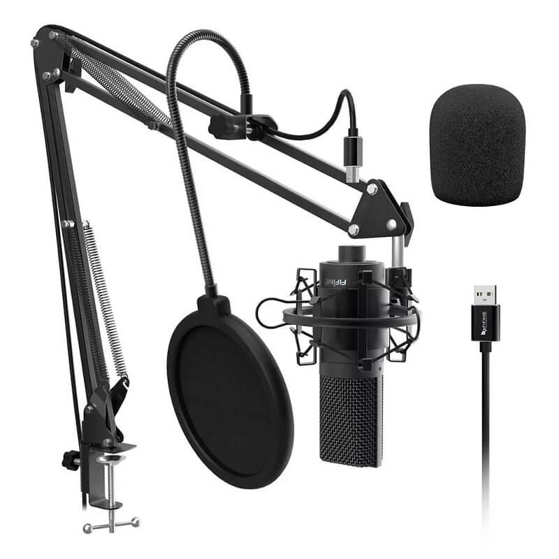 Студийный микрофон Fifine K780 с Алиэкспресс