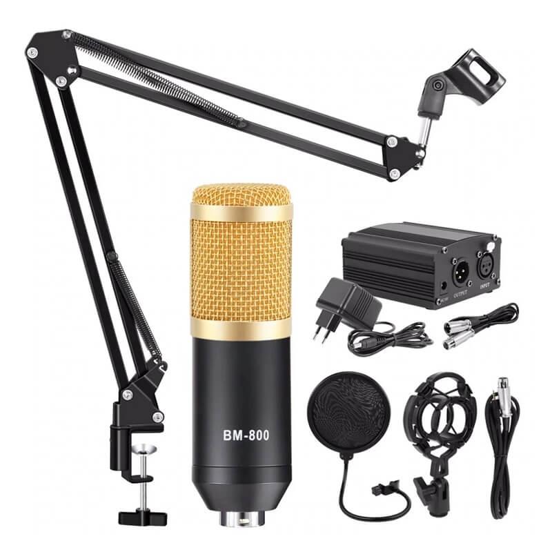 Студийный микрофон Szkoston BM-800 с Алиэкспресс