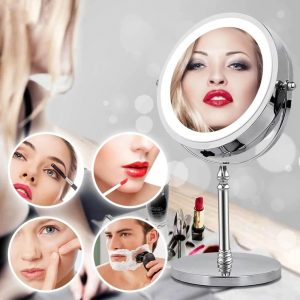 Зеркало для макияжа с подсветкой Beautylife с Алиэкспресс