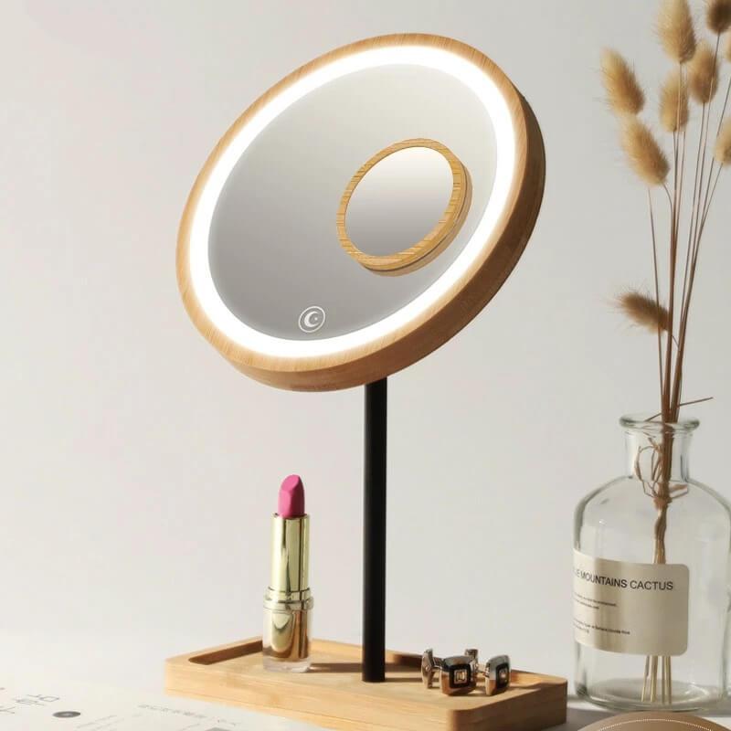 Зеркало для макияжа с подсветкой Beautylife Store с Алиэкспресс