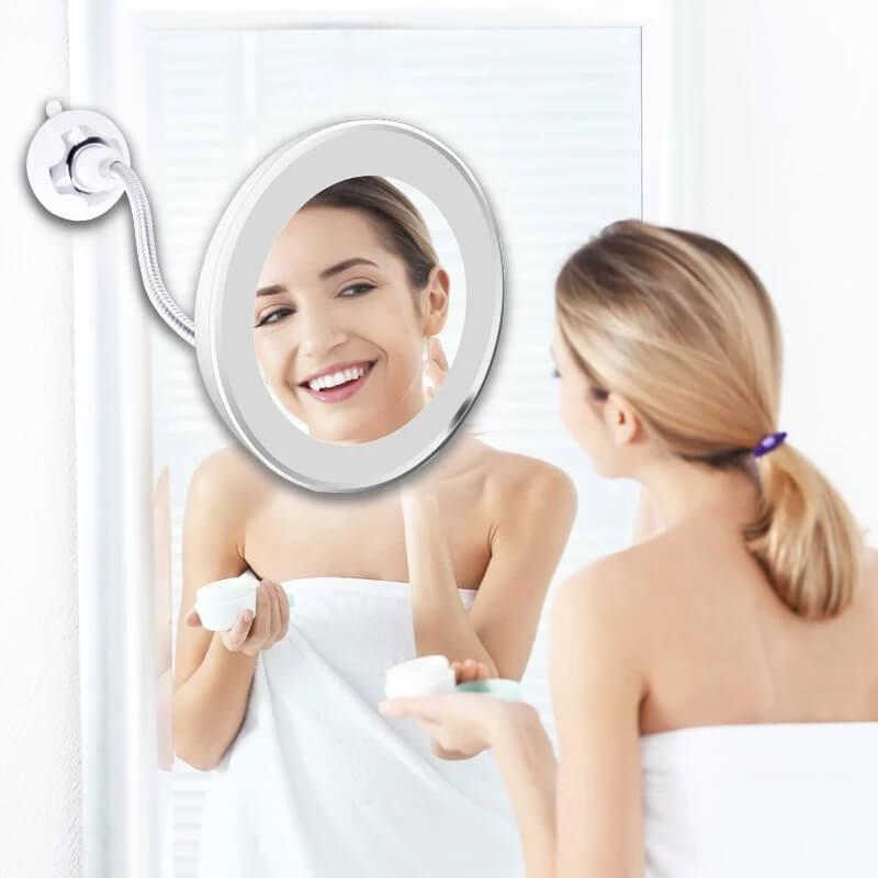 Зеркало для макияжа с подсветкой BeautyU с Алиэкспресс