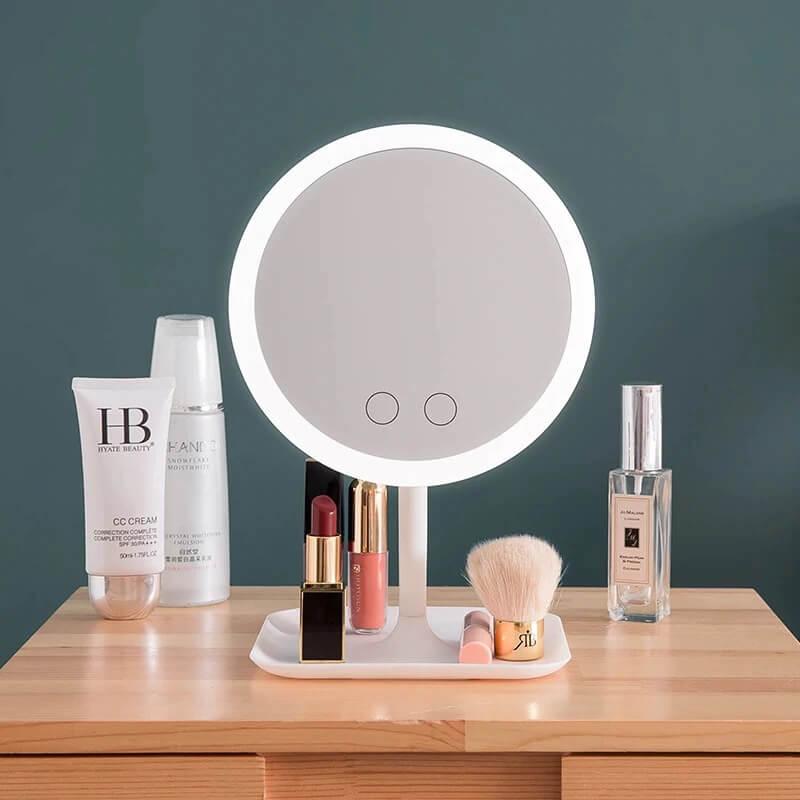 Зеркало для макияжа с подсветкой Cimeyous с Алиэкспресс