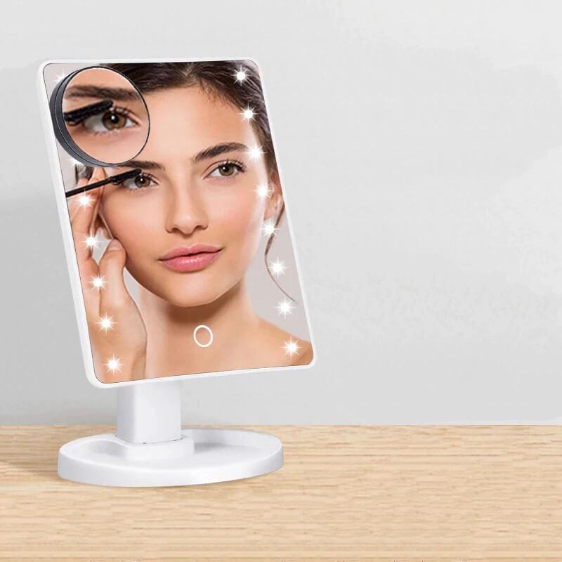 Зеркало для макияжа с подсветкой Darsonval с Алиэкспресс