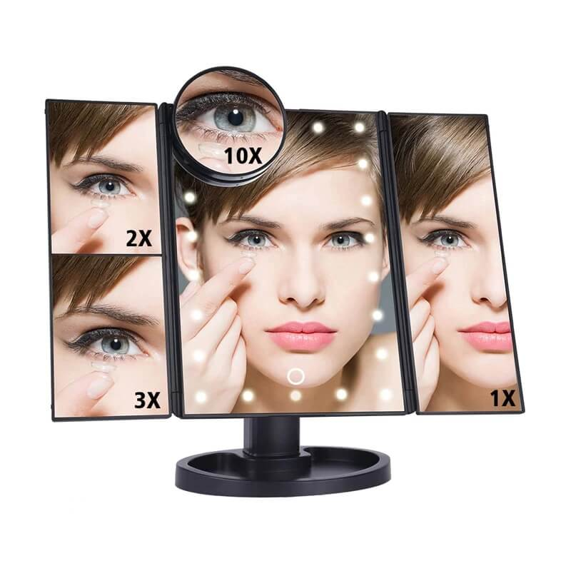 Зеркало для макияжа с подсветкой DearBeauty с Алиэкспресс