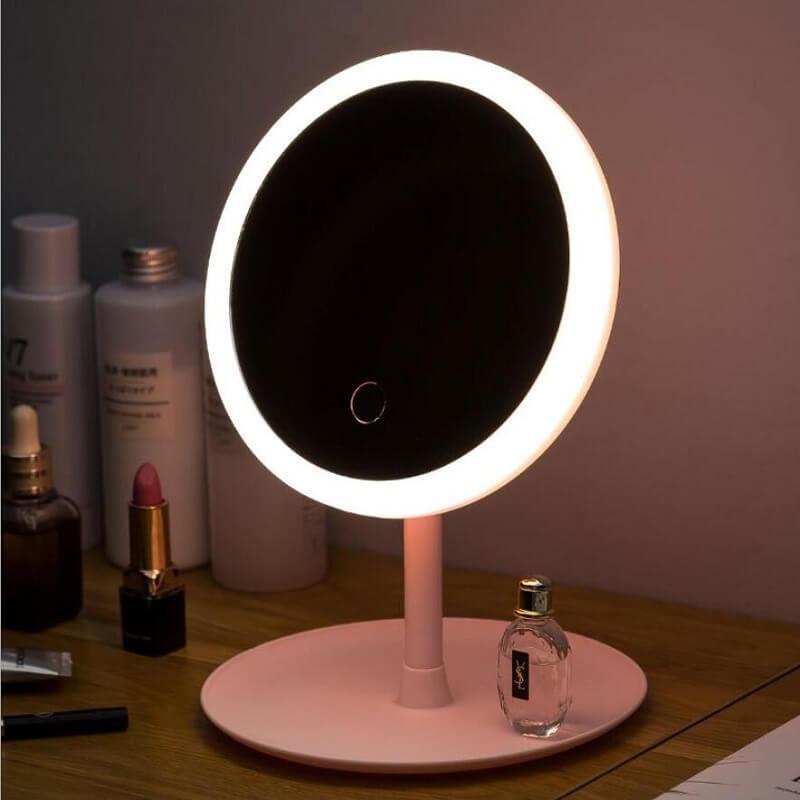 Зеркало для макияжа с подсветкой LH Tech с Алиэкспресс