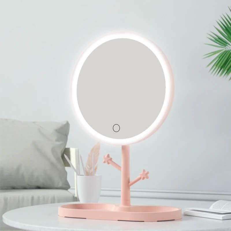 Зеркало для макияжа с подсветкой TC Beautylife с Алиэкспресс
