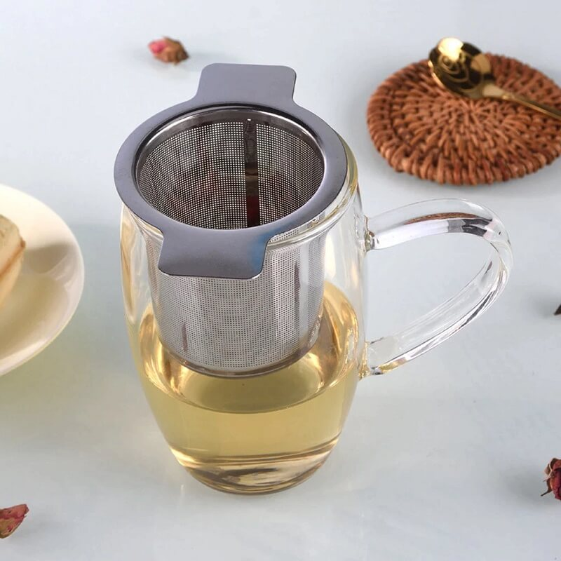 Фильтр для заварки чая из нержавейки Furnishing с Алиэкспресс