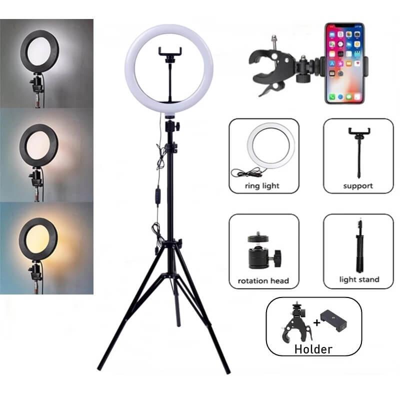 Кольцевая лампа Tongdaytech с Алиэкспресс