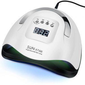 LED лампа для маникюра SUNX7 MAX 72W с Алиэкспресс