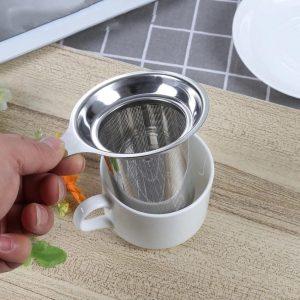 Многоразовый ситечко для заваривания чая с Алиэкспресс