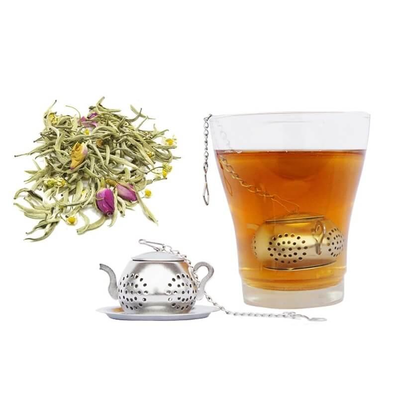Ситечко для заварки чая из нержавеющей стали с Алиэкспресс