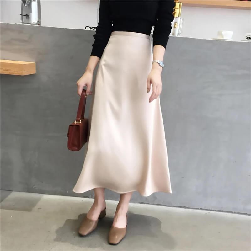 Атласная юбка Kamazing 896 с Алиэкспресс