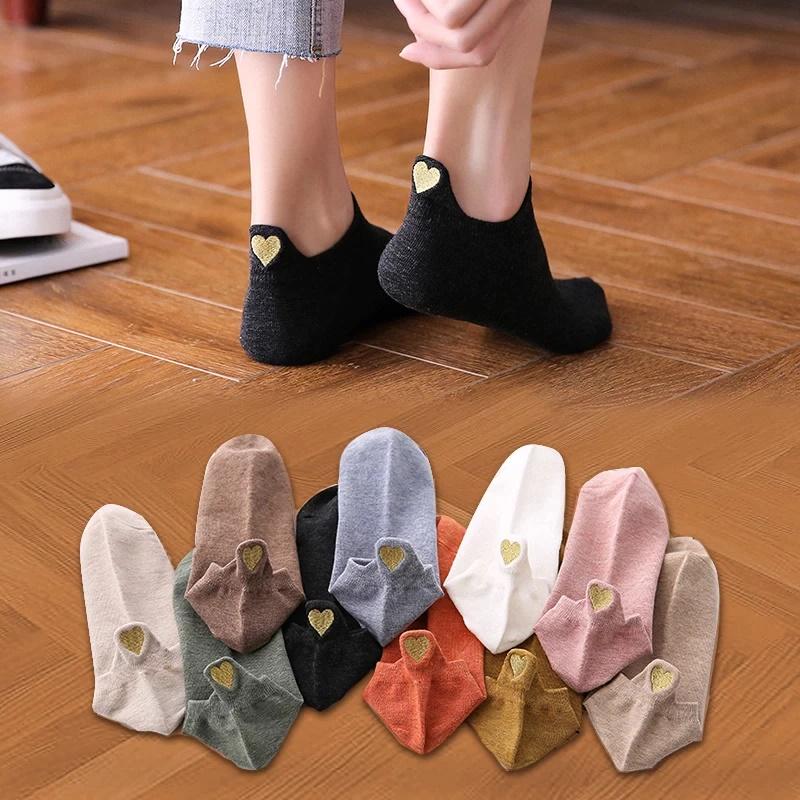 Хлопковые женские носки Elcmn O-A11519-PW с Алиэкспресс