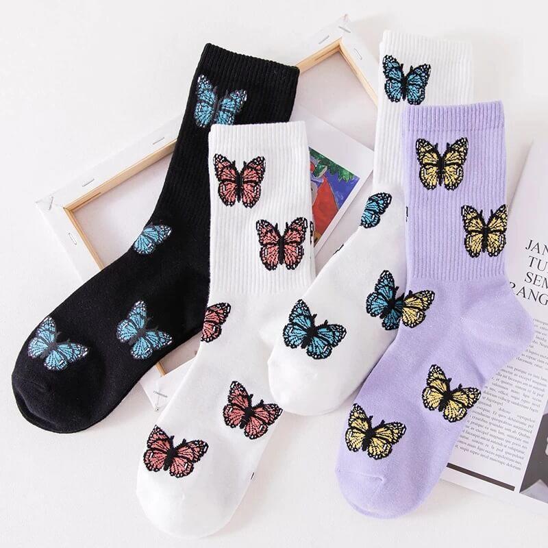 Модные женские носки Ecmln i-A11572-GJJ с Алиэкспресс