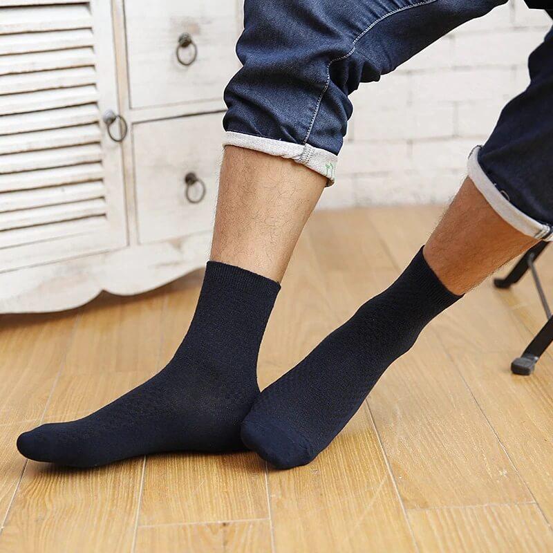 Мужские бамбуковые носки Ztoet WZ188 с Алиэкспрес