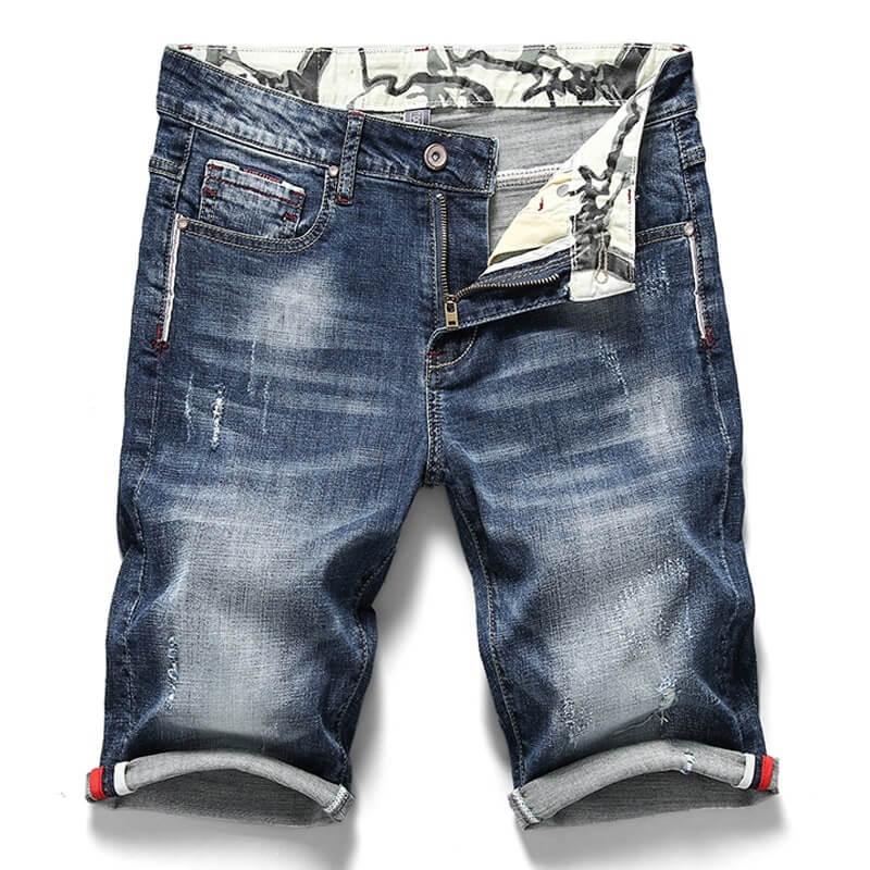 Мужские джинсовые шорты Brother Wang с Алиэкспресс