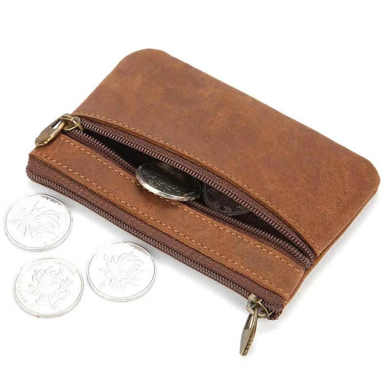 Мужской кошелёк из натуральной кожи Genodern G904 с Алиэкспресс