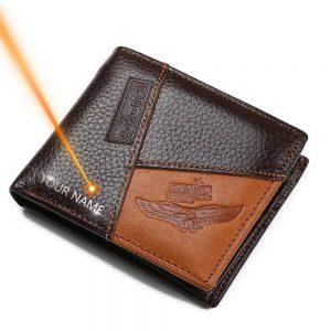 Мужской кошелёк из натуральной кожи Gubintu G8042-1-2-3 с Алиэкспресс