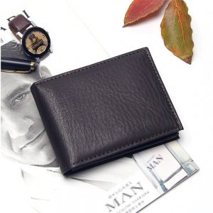 Мужской кошелёк из PU кожи Badiya MW08064 с Алиэкспресс