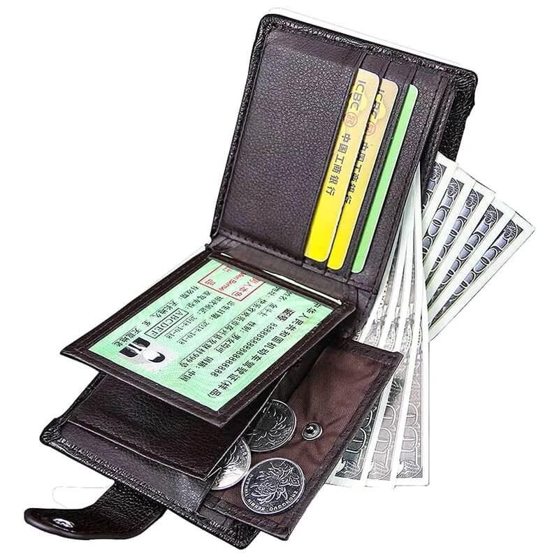 Мужской кошелёк из PU кожи TCGAD F124 с Алиэкспресс