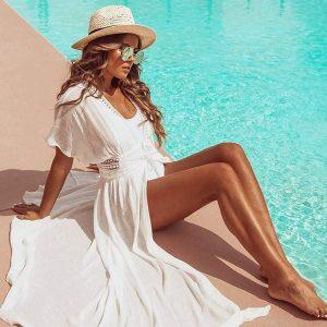 Пляжное платье Shop5787055 с Алиэкспресс