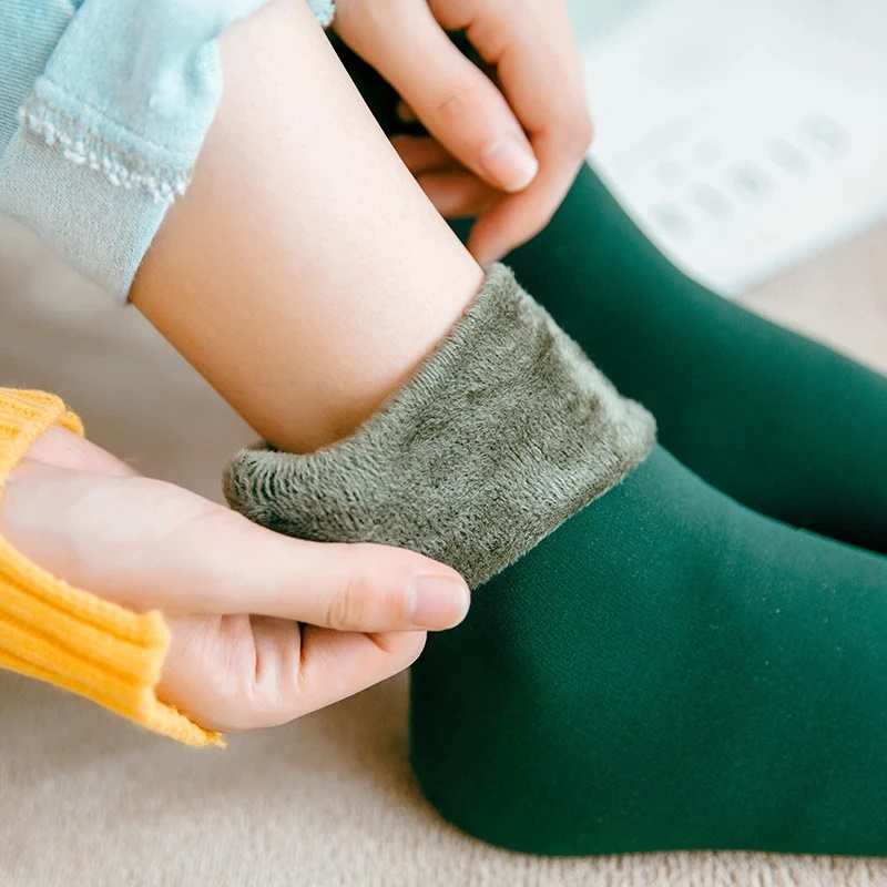 Тёплые женские носки Vdogrir 4813 с Алиэкспресс