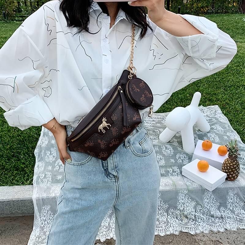 Женская поясная сумка Felmoav YL469 с Алиэкспресс