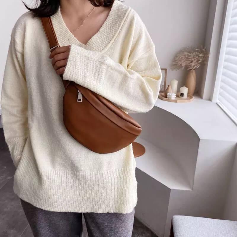 Женская поясная сумка Oeny 102465632 с Алиэкспресс
