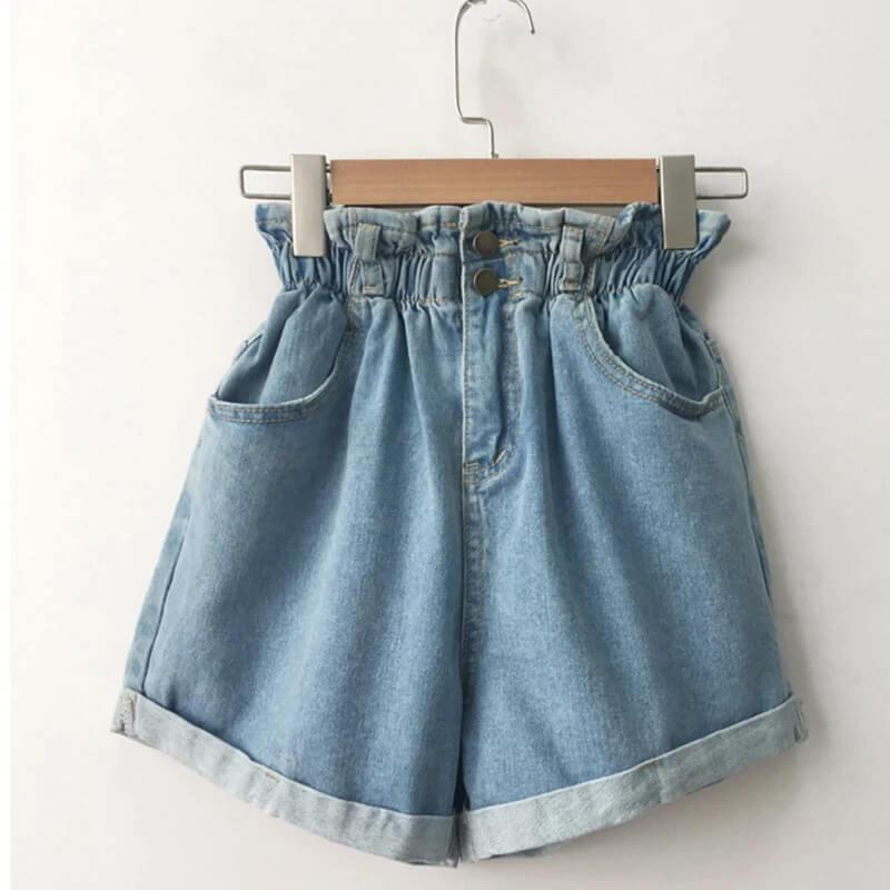 Женские джинсовые шорты Aiyanga hwh 8517 с Алиэкспресс