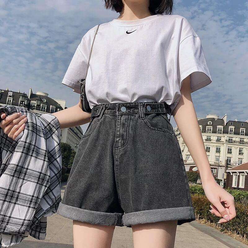 Женские джинсовые шорты Ftlzz R2042504 с Алиэкспресс