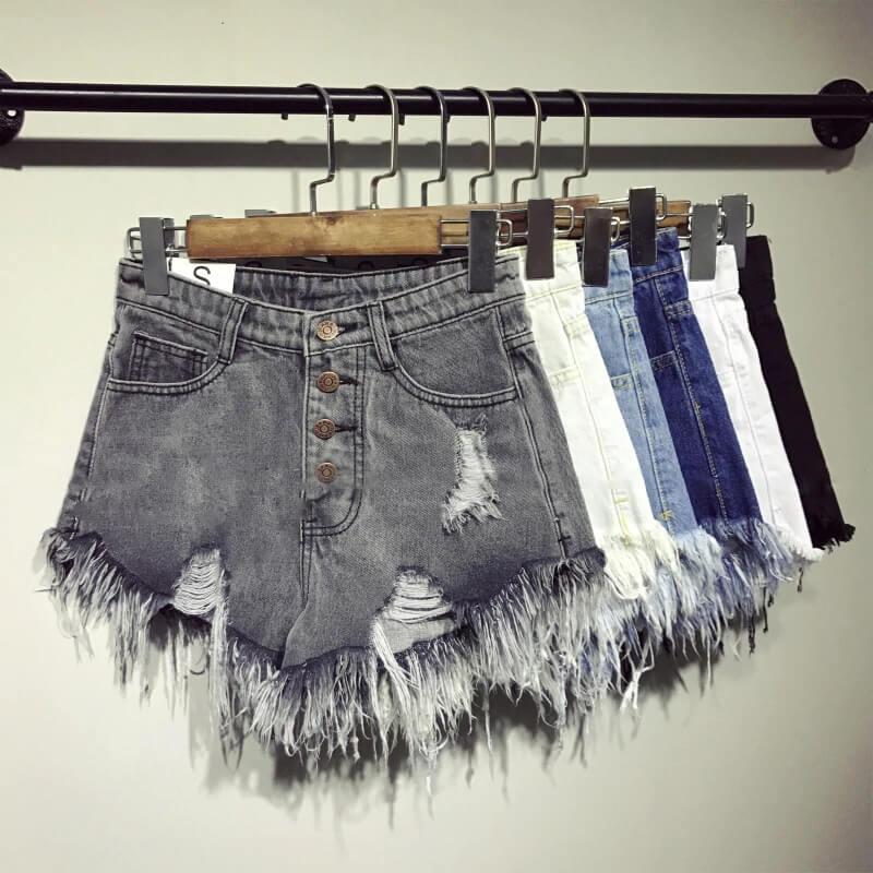 Женские джинсовые шорты Sen Store XB3313 с Алиэкспресс