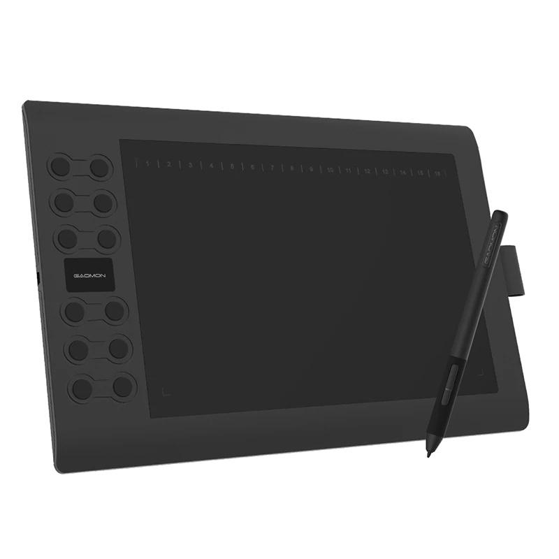 Графический планшет Gaomon M106K PRO с Алиэкспресс