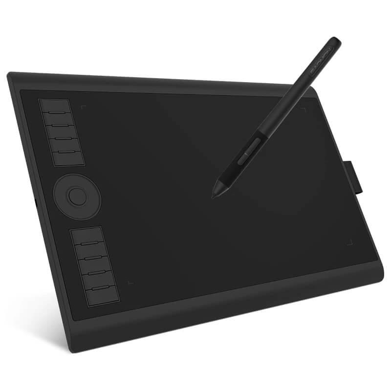 Графический планшет Gaomon M10K PRO с Алиэкспресс