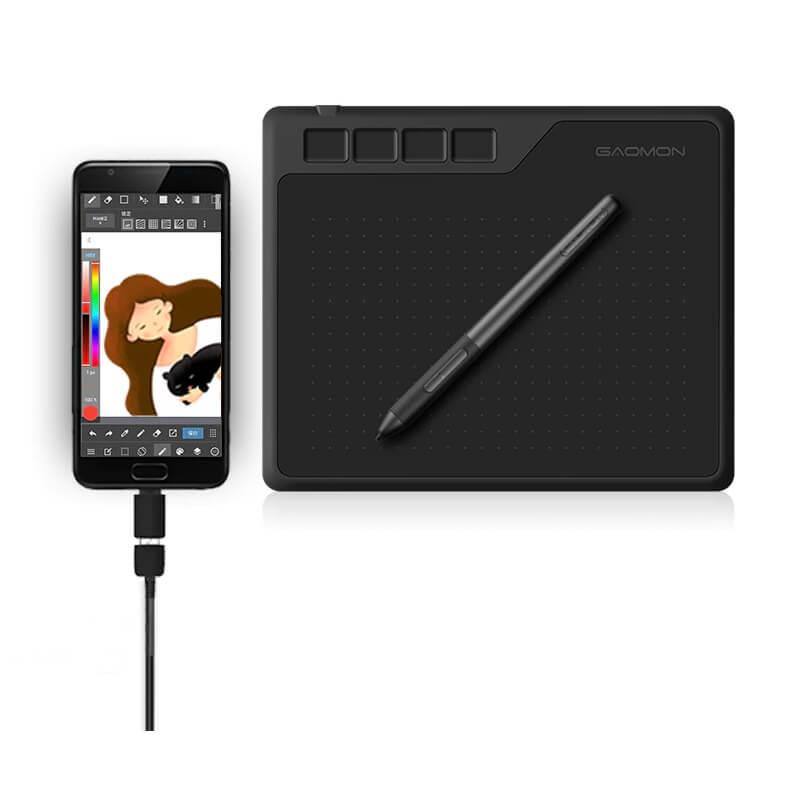 Графический планшет Gaomon S620 с Алиэкспресс