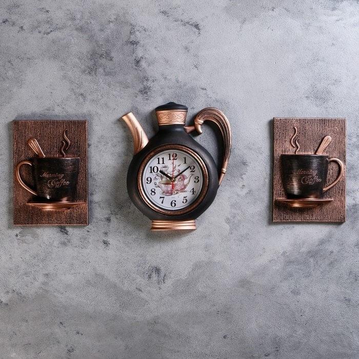 Кухонные часы на стену Сангино с Алиэкспресс