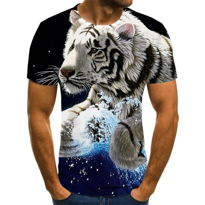Мужская футболка с 3D-принтом Mr Lonely с Алиэкспресс