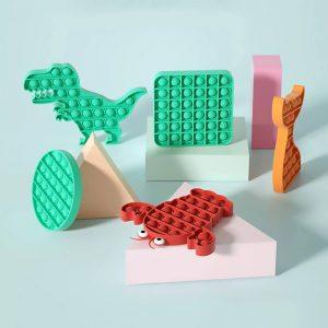 Антистресс-игрушка Pop It с Алиэкспресс