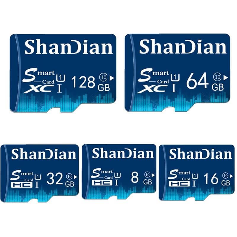 Карта памяти microSD от ShanDian с Алиэкспресс