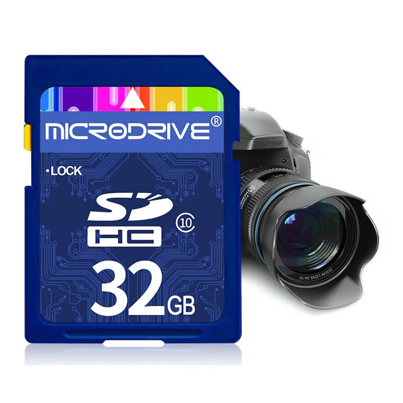 Карта памяти SD от MicroDrive с Алиэкспресс
