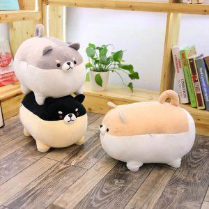 Мягкая игрушка собака Сиба-ину с Алиэкспресс