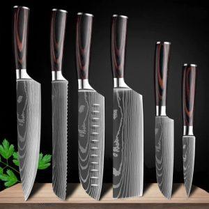 Набор кухонных ножей Xituo с Алиэкспресс