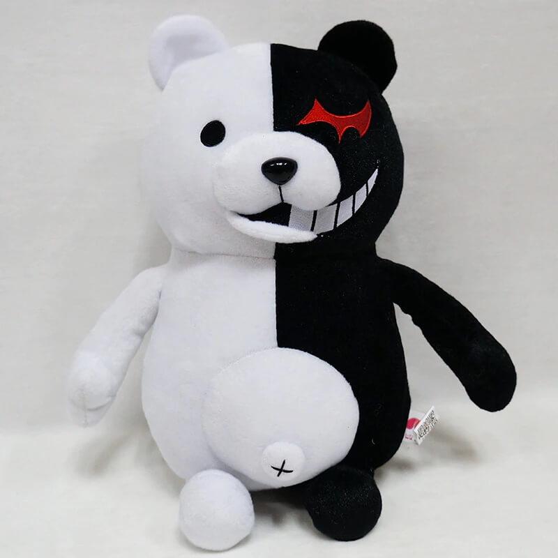 Плюшевая игрушка медведь Монокума с Алиэкспресс