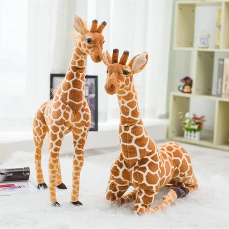 Плюшевая игрушка жираф с Алиэкспресс